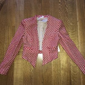 Alice and Olivia sample blazer